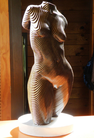 Rosie, The Topology of the Torso, Laser cut MDF, No. 69 Open Edition, April 2015, H 45cm, 3,4kg, $ 2.000